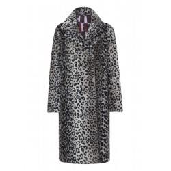 Coat made of faux fur by s.Oliver Black Label