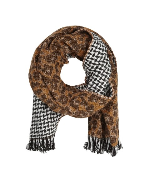 XXL scarf with mixed patterns by s.Oliver Black Label