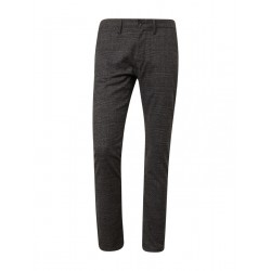 Travis Slim Chino im Glencheck-Muster by Tom Tailor