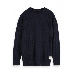 Cable-knit sweater by Scotch & Soda
