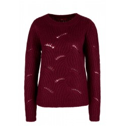 Flauschiger Ajour-Pullover by s.Oliver Red Label