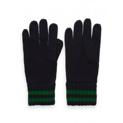 Knitted gloves by Scotch & Soda