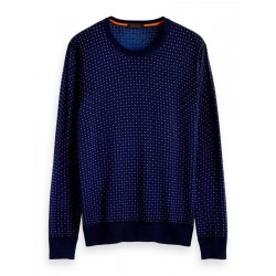 Pullover mit Print by Scotch & Soda