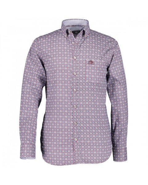 Printed shirt with long sleeve by State of Art