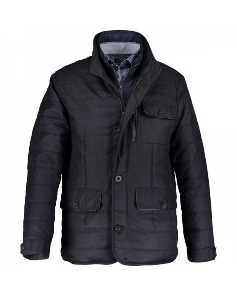 Wool optic jacket by State of Art