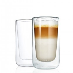Set of 2 latte macchiato glasses by Blomus