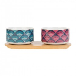 Box of 2 cereal bowls & tray by SEMA Design