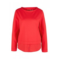 Sweat-shirt au look superposé by s.Oliver Red Label