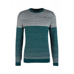 Knit jumper with stripes by s.Oliver Red Label