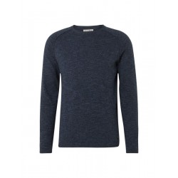 Jumper with structure pattern by Tom Tailor Denim