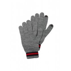 Gloves with contrasting details by s.Oliver Red Label