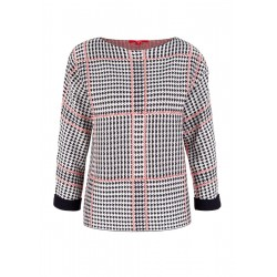 Pullover mit Jacquardmuster by s.Oliver Red Label