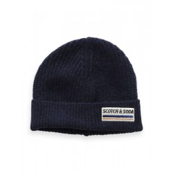 Wool blend beanie by Scotch & Soda