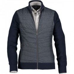 Cardigan made of blended merino wool by State of Art