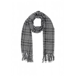 Woven scarf in a Prince of Wales check style by s.Oliver Red Label