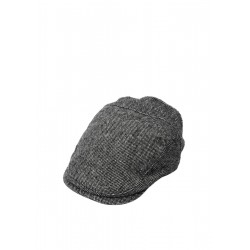 Flat cap with a woven texture by s.Oliver Red Label