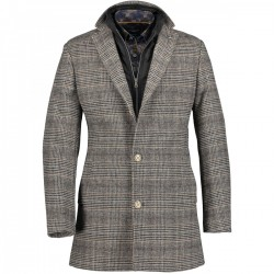 Jacket Checked with button closure by State of Art