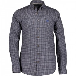 Poplin shirt in stretch cotton by State of Art