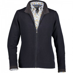 Cardigan with elbow patches by State of Art