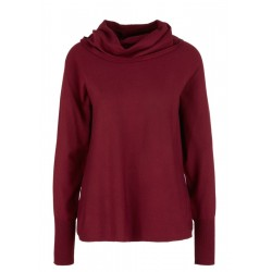 Loose Fit-Pullover mit Schalkragen by s.Oliver Red Label
