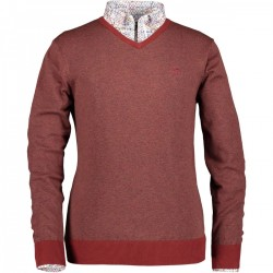 Pullover with V-neck by State of Art
