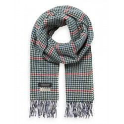 Checked scarf in wool blend by Scotch & Soda