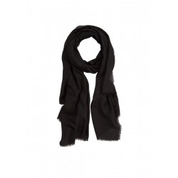 Web scarf with stud details by s.Oliver Black Label