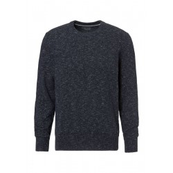 Pullover mit Lambswool Tweed by Marc O'Polo