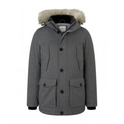 Winter jacket with hood by Tom Tailor
