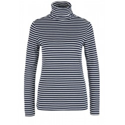 Long sleeve shirt with turtleneck by s.Oliver Red Label