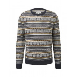 Pull jacquard hivernal by Tom Tailor