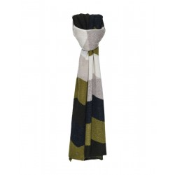 Striped scarf Astripa scarf by Opus