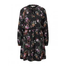 Dress with floral pattern by Tom Tailor Denim
