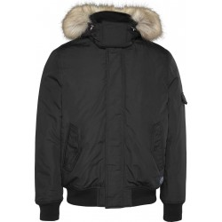 Trimmed hood technical jacket by Tommy Jeans