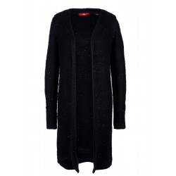 Long-Cardigan mit Pailletten by s.Oliver Red Label