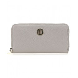 Large metallic finish wallet by Tommy Hilfiger