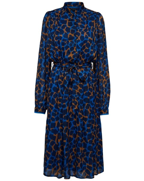 Kleid mit Leopardenmuster by Selected