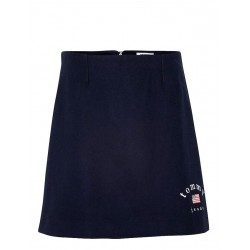 A-Line wool blend skirt by Tommy Jeans
