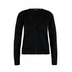 Short fine knit cardigan by s.Oliver Red Label