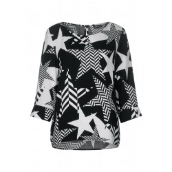 Starprint blouse by Street One