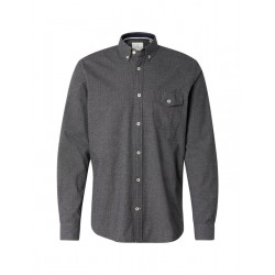 Patterned shirt with narrow Kent-style collar by Tom Tailor