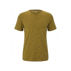 T-Shirt mit Allover-Print by Tom Tailor