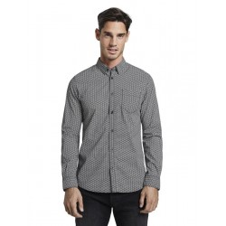 Shirt with all-over print by Tom Tailor