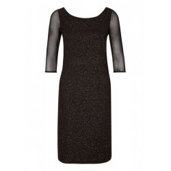 Jacquard-Kleid mit Glitzer-Effekt by s.Oliver Black Label