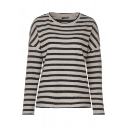 Glittering stripes shirt by Street One