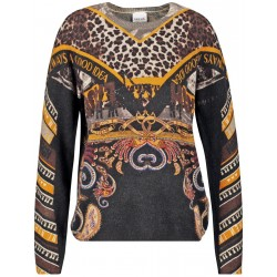 Jumper with a print by Taifun