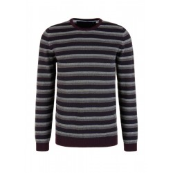 Striped cotton jumper by s.Oliver Red Label