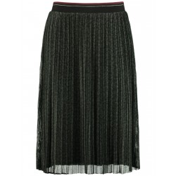 Pleated skirt with an elasticated waistband by Samoon
