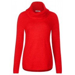 Pullover with wide collar by Cecil