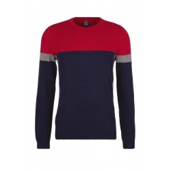 Jumper with colour blocking by s.Oliver Red Label